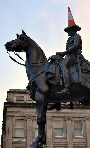 Glasgow's Cone Headed Horse